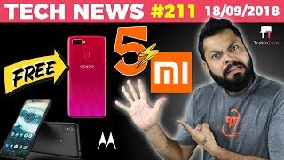 Mi Band 3, Mi TV 4S, Motorola One Power, Redmi 6 Pro, FREE Oppo F9 Pro, iVoomi Innelo, Poco -TTN#211