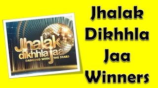 Jhalak Dikhhla Jaa Winners List from 2006 - 2015