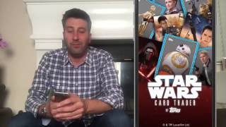 Hands on with Topps Star Wars Card Trader App