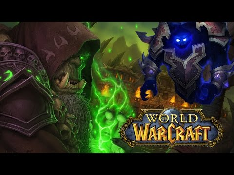 World of Warcraft - LVL 90 Warlock vs Blood Furnace