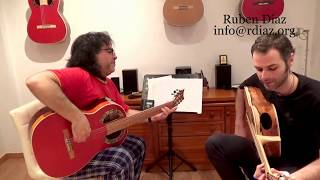 Into the Future (Solea por buleria) composition by Ruben Diaz /Contemporary Flamenco Guitar Music
