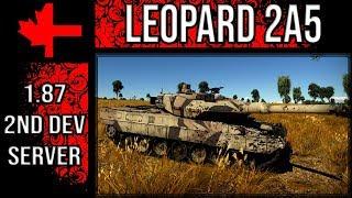 War Thunder 2 Dev Server - Update 1.87 - Leopard 2A5