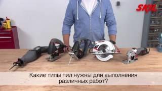 видео Виды цепных пил и область их применения
