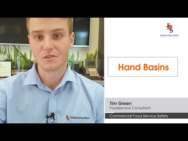 Foodservice Safety Design Tips - Hand Basins | Commercial Kitchen Design | Food Strategy