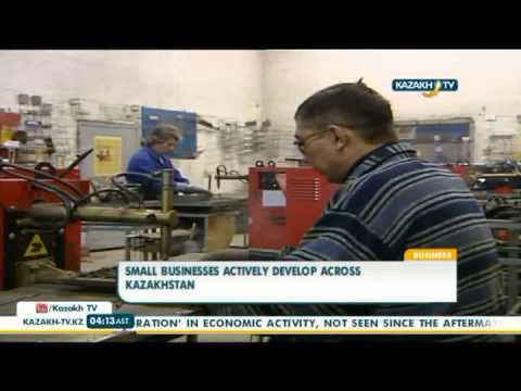 Small businesses actively develop across Kazakhstan