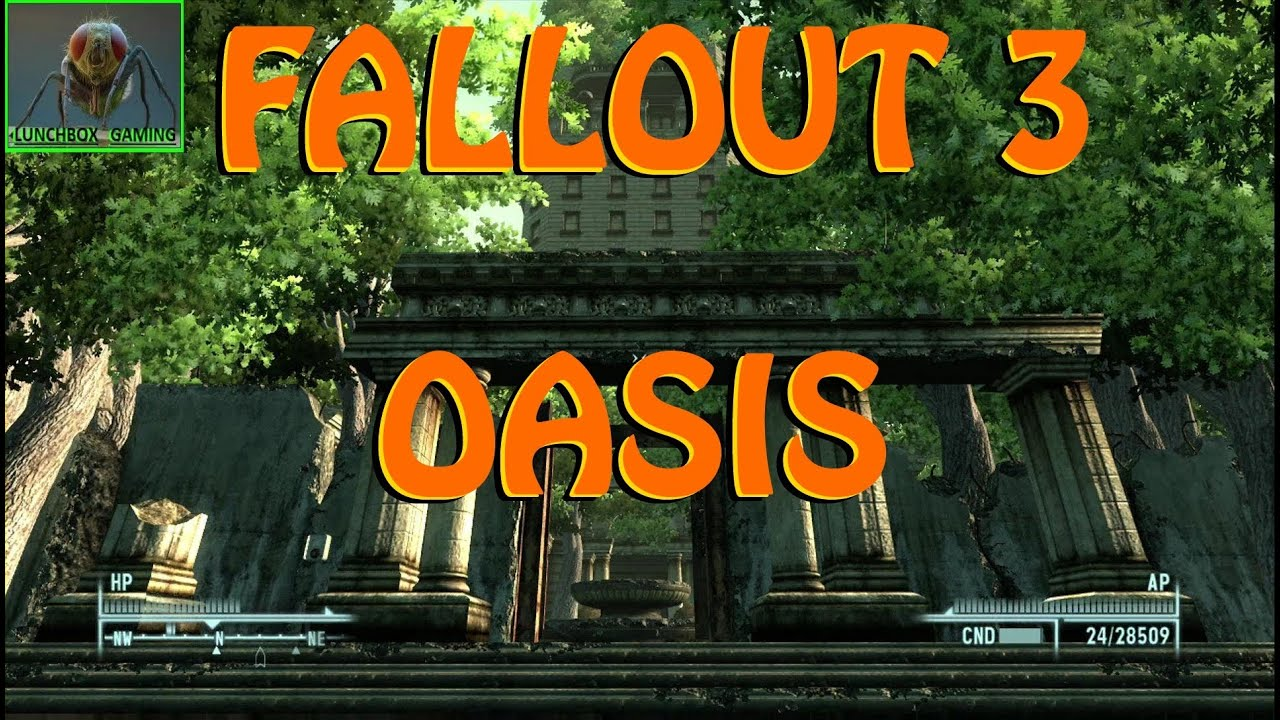 "Fallout 3- ""Modded Tenpenny Tower Oasis""- TREES! (XBOX 360 ..."