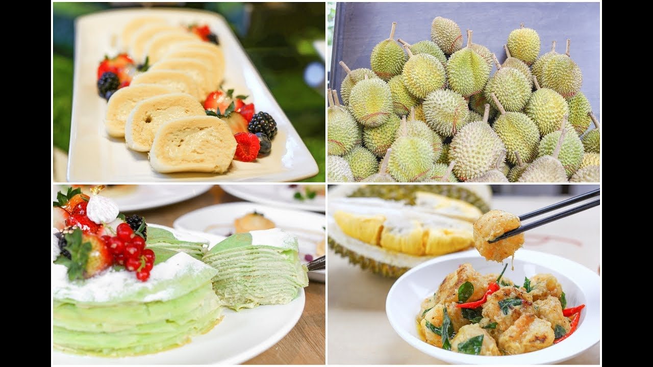 Lime Restaurant – The Ultimate Durian Buffet With Durian Savouries