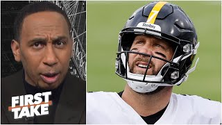 Stephen A. is 'utterly disgusted' by the Steelers' performance vs. the Ravens   First Take