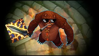 LoL Best Moments #211 Statikk Shiv and Tibbers (League of Legends)