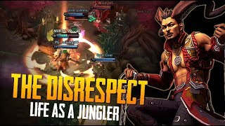 THE DISRESPECT! Vainglory 5v5 Gameplay - Reza |CP| Jungle Gameplay