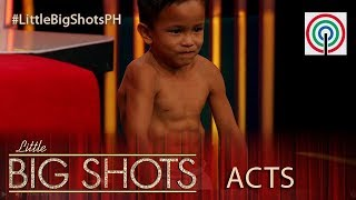 Little Big Shots Philippines: Kent | 6-year-old with 6-pack abs