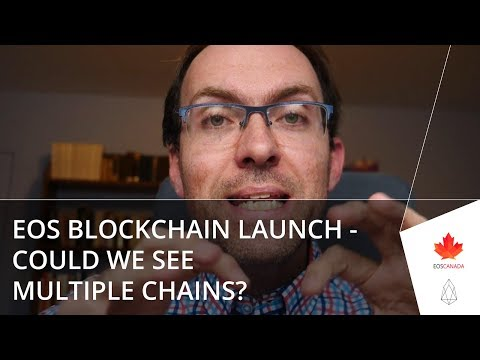 EOS Blockchain Launch - Could We See Multiple Chains?