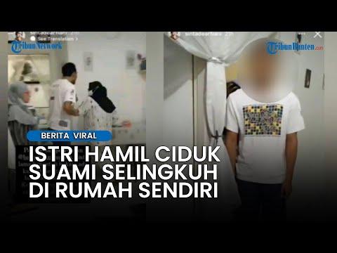 Viral Video Istri Hamil Ciduk Suami Selingkuh di Rumah Sendiri, Curiga Lantaran Pintu Tak  Dibuka