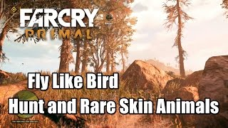 Far Cry Primal Hunt and Skin Animals for Urki Fly Like Bird