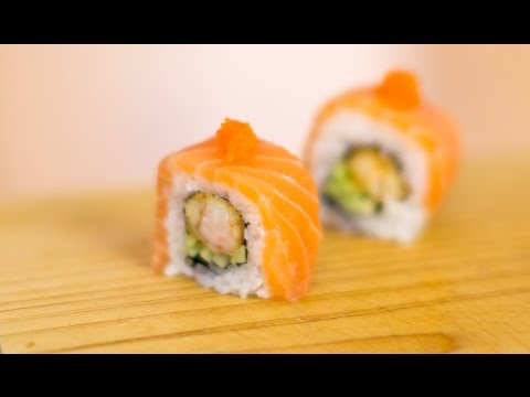 Salmon Dreams Sushi Roll Recipe