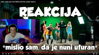 JANKO REAKCIJA NA NUNI - OMILJENI YOUTUBER ( OFFICIAL MUSIC VIDEO )