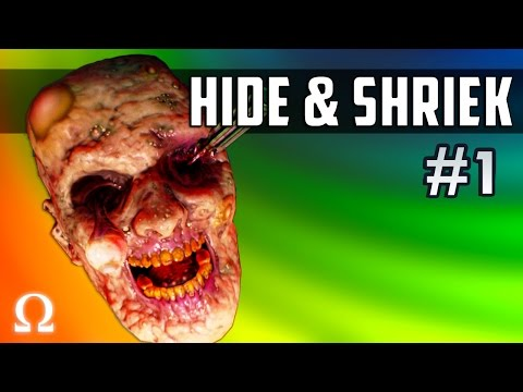 JUMP SCARING DELIRIOUS, MULTIPLAYER SPOOKS! | Hide & Shriek #1 Ft. H2ODelirious