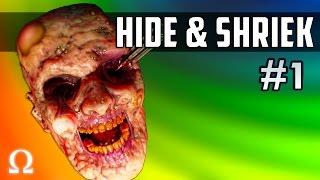 JUMP SCARING DELIRIOUS, MULTIPLAYER SPOOKS! | Hide & Shriek #1 Ft. H2ODelirious