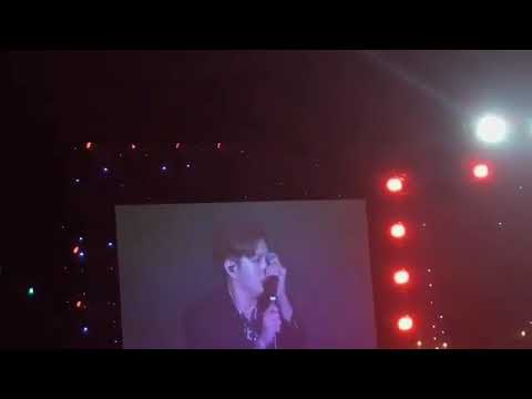 180812 Lee changsub - At the end | btob Day 3 final concert