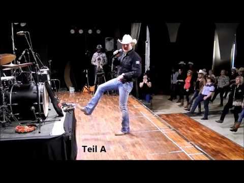 Line Dance Tour in Mexico, Choreographie: Adriano Castagnoli