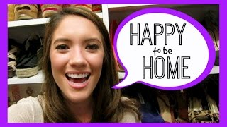 HAPPY TO BE HOME! July 18, 2014 | Blair Fowler