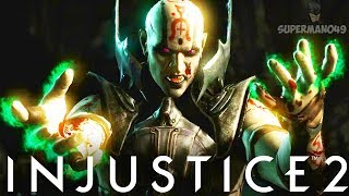 "The Insane Quan Chi Epic Enchantress Ability #Vortex - Injustice 2 ""Enchantress"" Gameplay"