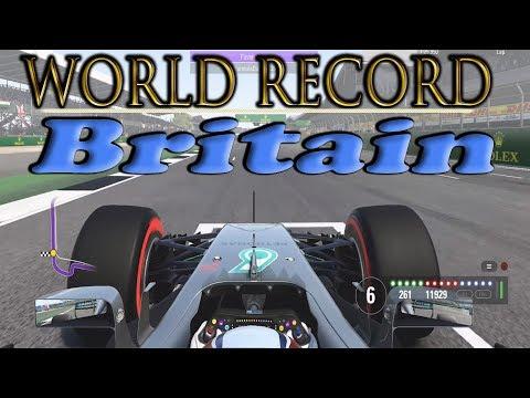 F1 2017 Britain WORLD RECORD / 1.25.950