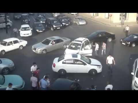 Bakida dehsetli avto qezalar - 2016  -  www.AVTOXEBER.az