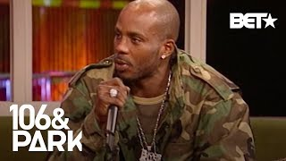#TBT 2003: DMX On How Record Labels Treat Rap Artists & His Shift Into Acting | 106 & Park