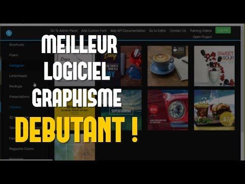 MEILLEUR LOGICIEL DE GRAPHISME POUR DEBUTANT