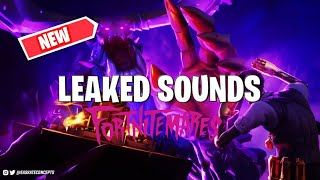 *NEW* LEAKED FORTNITEMARES SOUND EFFECTS! - Fortnitemares 2020