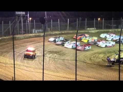4 wide salute at moler raceway park