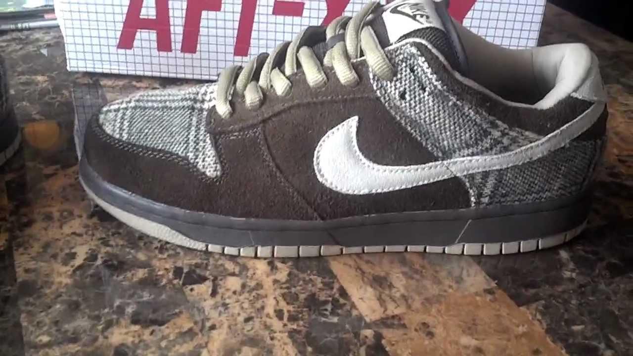 quality design b3b61 015a3 Nike Dunk SB Tweed Low Review  Secret Sneaker Society