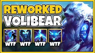 NEW VOLIBEAR REWORK IS 100% BEYOND BROKEN!!! WTF IS THIS RIOT?!? - League of Legends