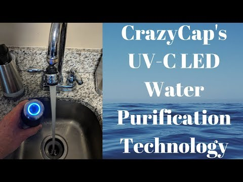 Microlyscs CrazyCaps UV C LED Water Purification Technology