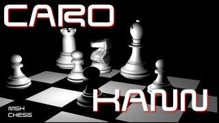 Chess lesson : Caro Kann (advance variation) for black