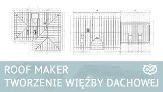 Archicad - Tworzenie więźby dachowej z wykorzystaniem Roof Maker - Zapowiedź kursu | CGwisdom.pl
