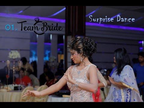 Surprise Dance - 01 Team Bride, Sampath + Amashi Wedding 25.01.18 Sri Lanka