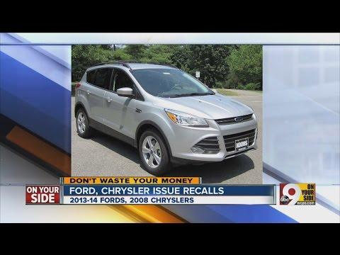 Ford, Chrysler issue recalls