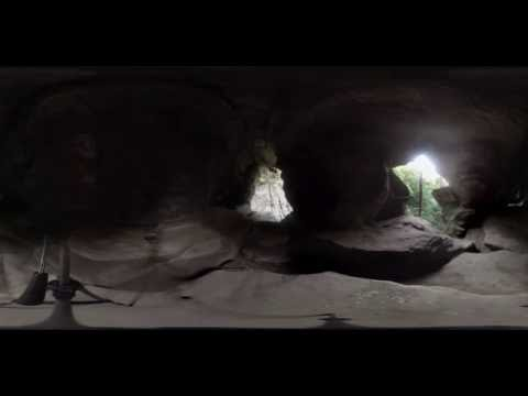 360 Degree Video of Rock House Cave in Hocking County Ohio.