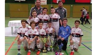 U11 Jhg2005 1. FSV Mainz 05 vs FC Bayern München 2:3; FINALE Blausteiner Hallenpokal 06.02.2016