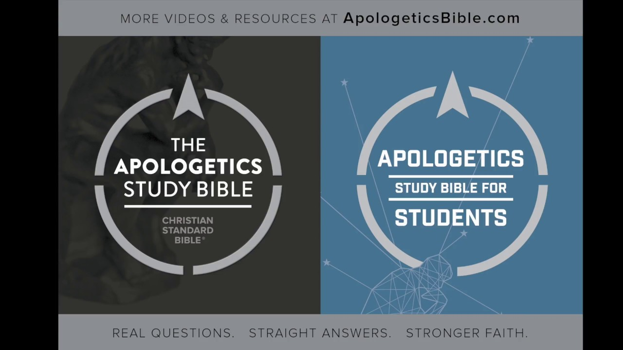 CSB Apologetics Study Bible for Students, Hardcover - B&H Publishing