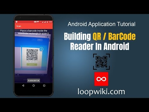 Android QR Code Scanner / Android Barcode Scanner Example
