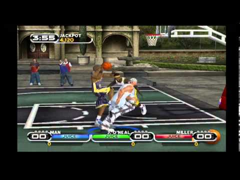 Nba Ballers Ps2 Bringing Down The House In Under 3 Minutes
