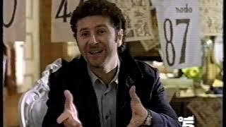 """Spot """"Gioco del Lotto"""" con Fabio Fazio (Canale 5 28/11/1998)"""