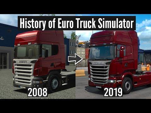 History Of Euro Truck Simulator | ETS 1 Vs ETS 2 | 2008 Vs 2019 | Toast 🚚
