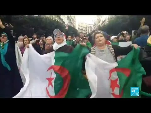 Algeria: Thousands Rally Against The Vote To Boycott Election