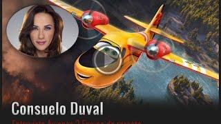 Consuelo Duval le pone voz a villanas y heroínas de Disney