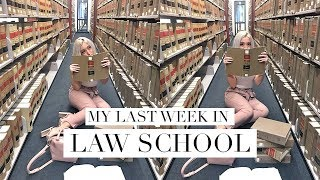 MY LAST WEEK OF LAW SCHOOL | DC Diaries #23