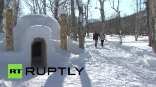 Coolest Hotel Ever? First igloo inn opens in Russia